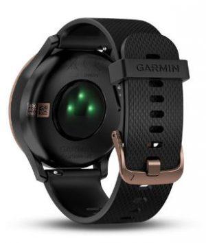 Reloj dep.GARMIN VivomoveHR GoldroseNegro S/M